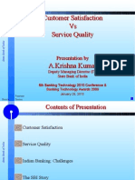 SBI- Mr Krishna Kumar- Customer Sat vs Serv Qty (1)