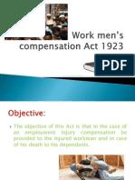 Work men's compensation Act 1923(final)