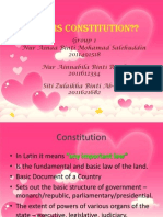 GROUP 1 -CONSTITUTION & CONSTITUTIONALISM