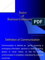 1.Basics of Business Communication