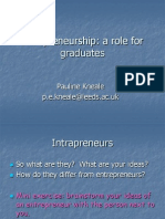 IntrapreneurshipARoleForGraduates