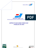 Especificaciones Tecnicas PGRC