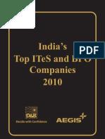 India ITeS+BPO 2010