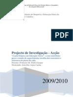 Projecto dde Investigação acção - Final