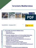 Presentacion Corredor Mediterraneo VALENCIA