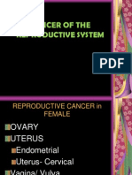 Cancer of the Reproductive System