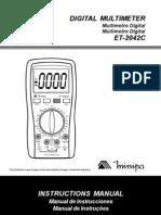 Manual Multi Metro Et 2042c 1100