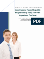 Report Coaching and Neuro Linguistic Programming (NLP)