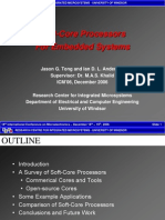 Soft Core] Soft-Core Processors for Embedded Systems