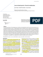 Cvd in Dent - Prac Considerations