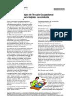 Consejos de Terapia Ocupacional para mejorar la conducta (I. Beaundry)