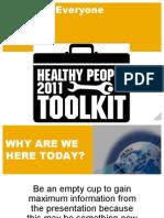 Health Tool Kit Test