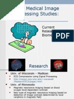 Medical Image Processing Studies