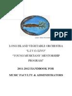 Livo Administrators Handbook