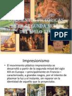 Corrientes pictóricas de la segunda mitad del siglo