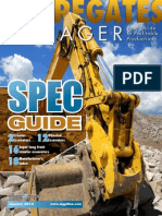 Excavator SpecGuide