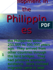 Economic Development in the Philippines