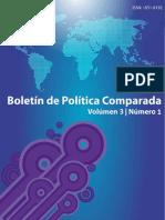 Boletín de Política Comparada # 4