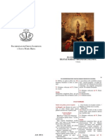Oficio de La Virgen Del Pilar (Folleto)