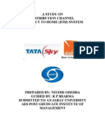 Distribution Channels in Direct to Home (Dth) System _ Nitesh