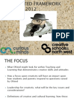 Curious Minds September New Ofsted Framework Family Learning
