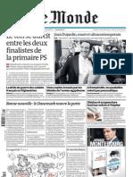 Le Monde du 11.10.11