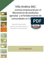Presentación de Marisela Vega (Villa Andina SAC)