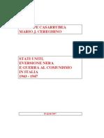 Casarrubbea e M.J. Ceneghino, Usa, eversione nera e guerra al comunismo in Italia 1943-1945
