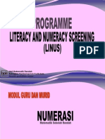 Program LINUS Numerasi