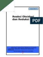 Reaksi Oksidasi Dan Reduksi