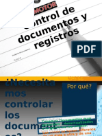 Control de Documentos CM2011