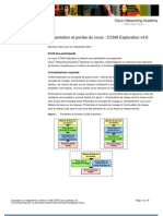 Fr CCNA Exploration Scope and Sequence
