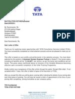Ravi Offer Letter