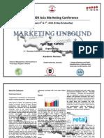 7th SIMSR Asia International Marketing Conference Brochure