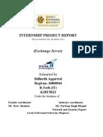 Mte Report 1