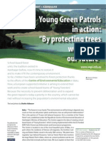 Young green patrols in action