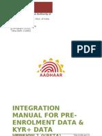 AADHAAR Registrar Integration Manual v1.0(RC 4) Beta