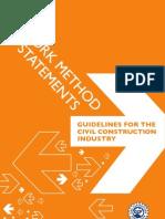 Method Statement Samples - Civil Works