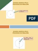 Divisão gráfica pelo processo de Rinaldini
