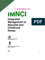 IMNCI Students' Handbook