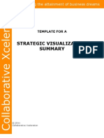 Strategic Visualization Summary Template
