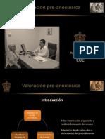 Valoración pre-anestésica