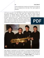 Sáxibeb. Cuarteto de Saxos.