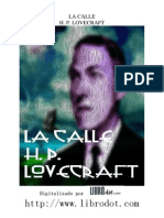 Lovecraft - La calle