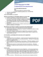 FDA Food Safety Law - Spanish