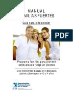 Manual Familias Fuertes Para Facilitadores