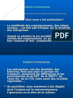 Culture d'Entreprise