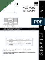 NSX-V900 929