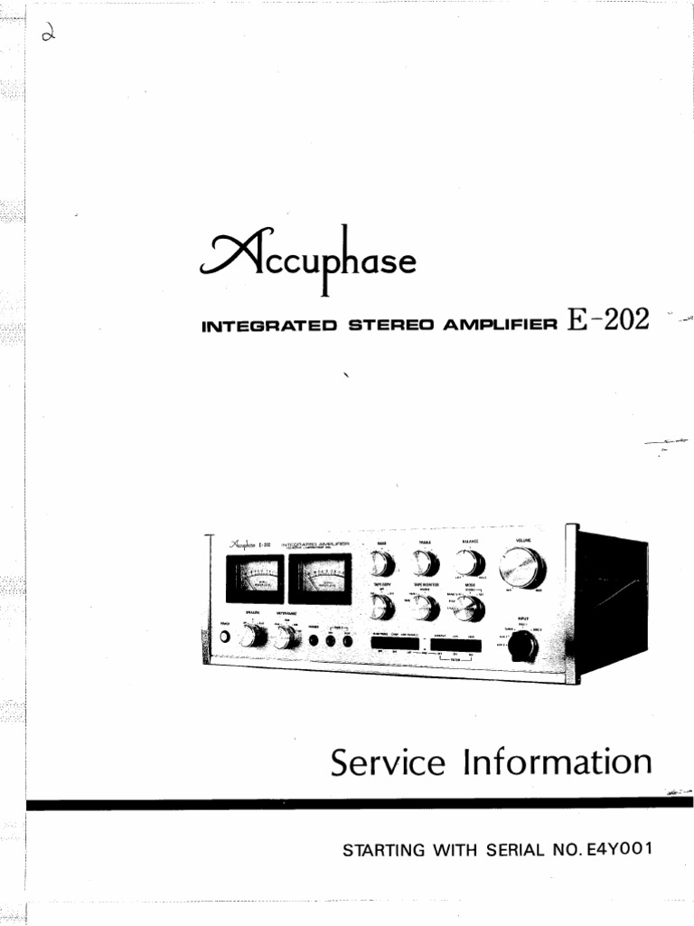 accuphase e