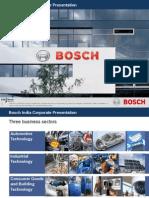 20110211 Bosch India Corporate Presentation